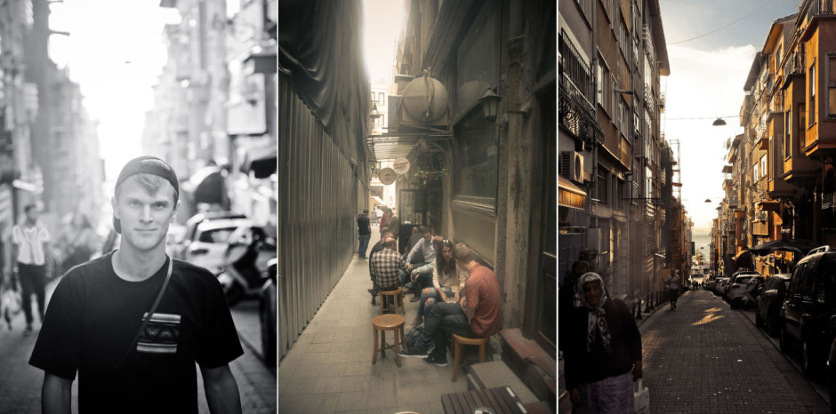 Exploring Istanbul's backstreets
