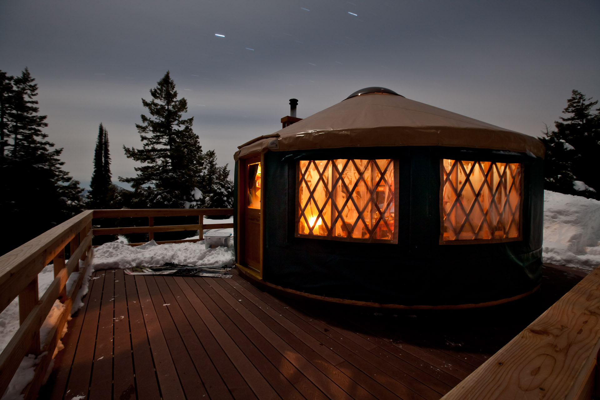 Stargaze Yurt