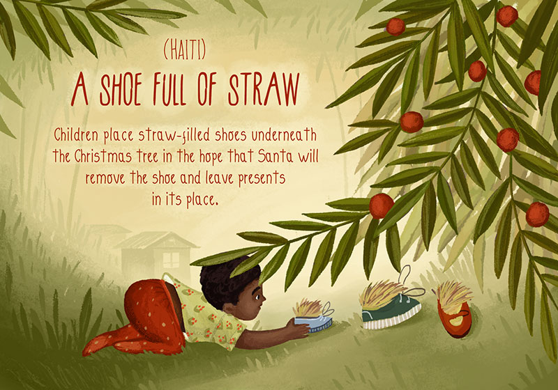 20 Charming Illustrations Of Christmas Traditions From Around The