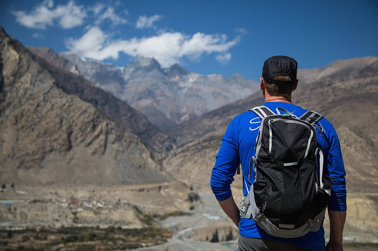 Shannon at Jomsom