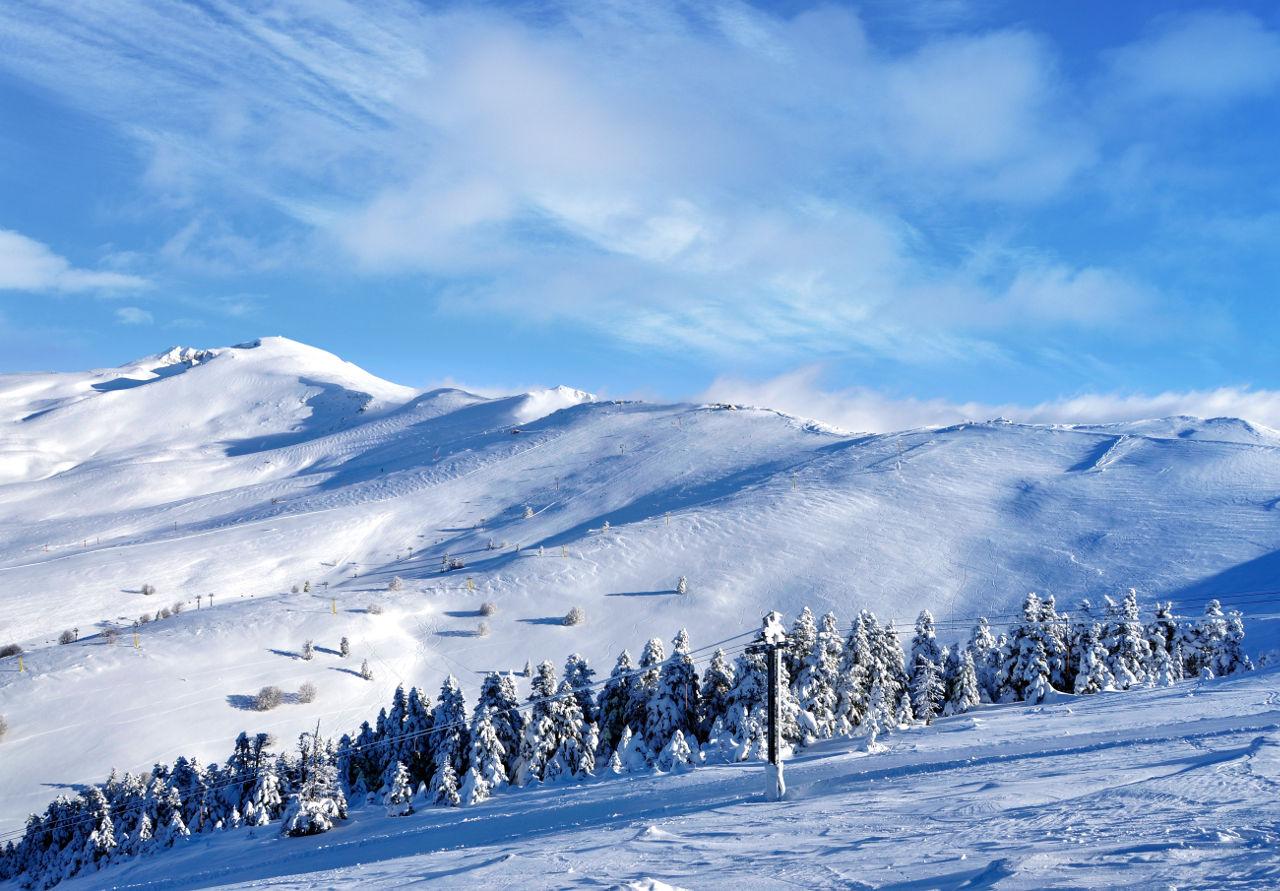 Skiing in Turkey