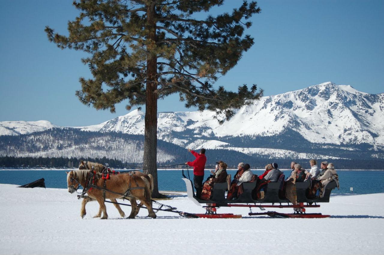 Passenger Sleigh at Lake Tahoe