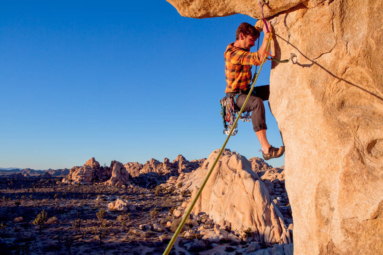 Photographer's guide to shooting rock climbers
