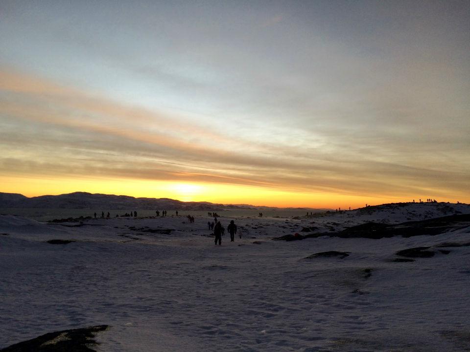 Ilulisat-sunrise