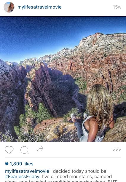 Top of Angel's Landing in Zion AlyssaRamos4