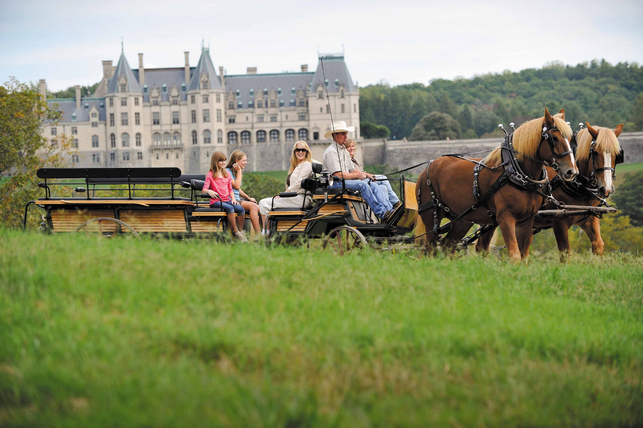 Biltmore carriage ride