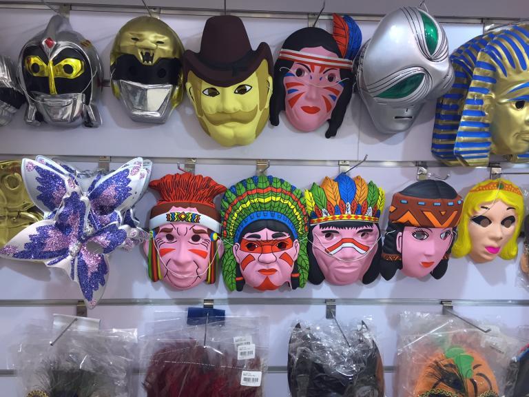 native-american-masks