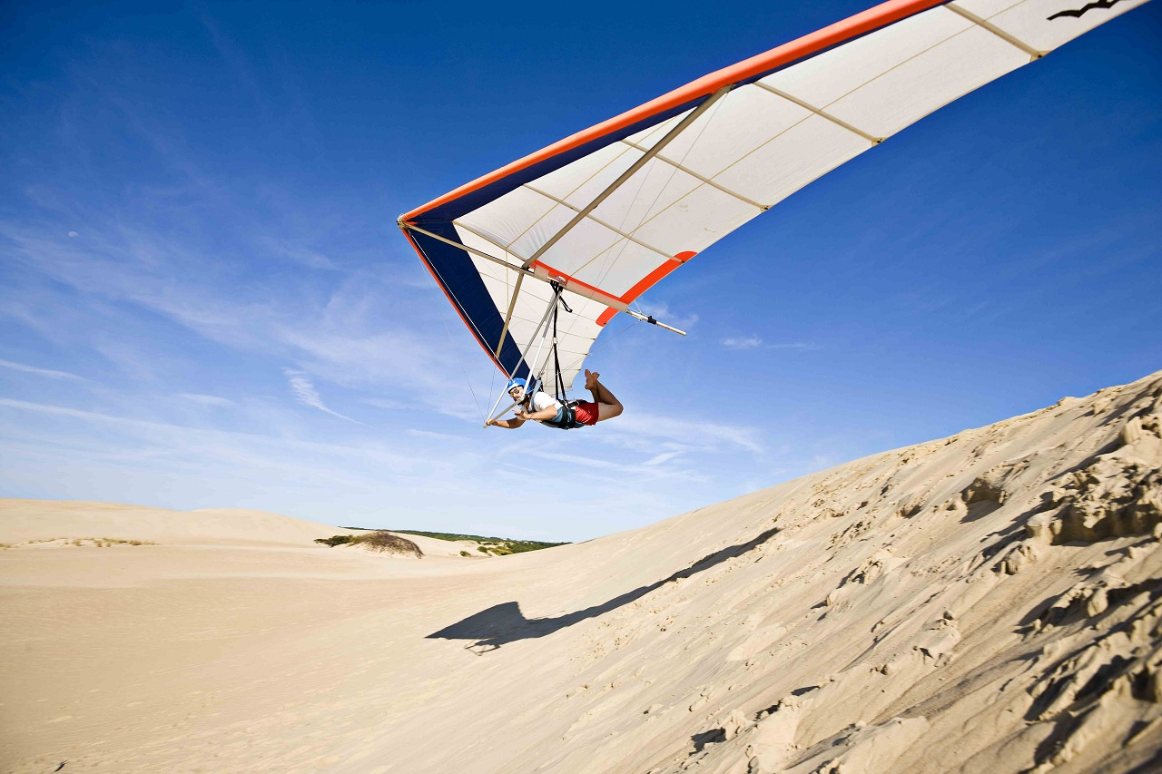 Hanggliding at Jockeys Ridge 9