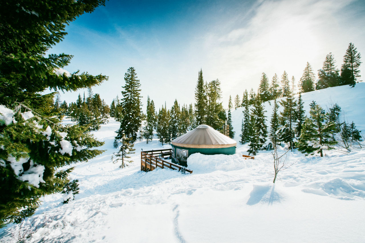 Banner Ridge Yurt, near Idaho City
