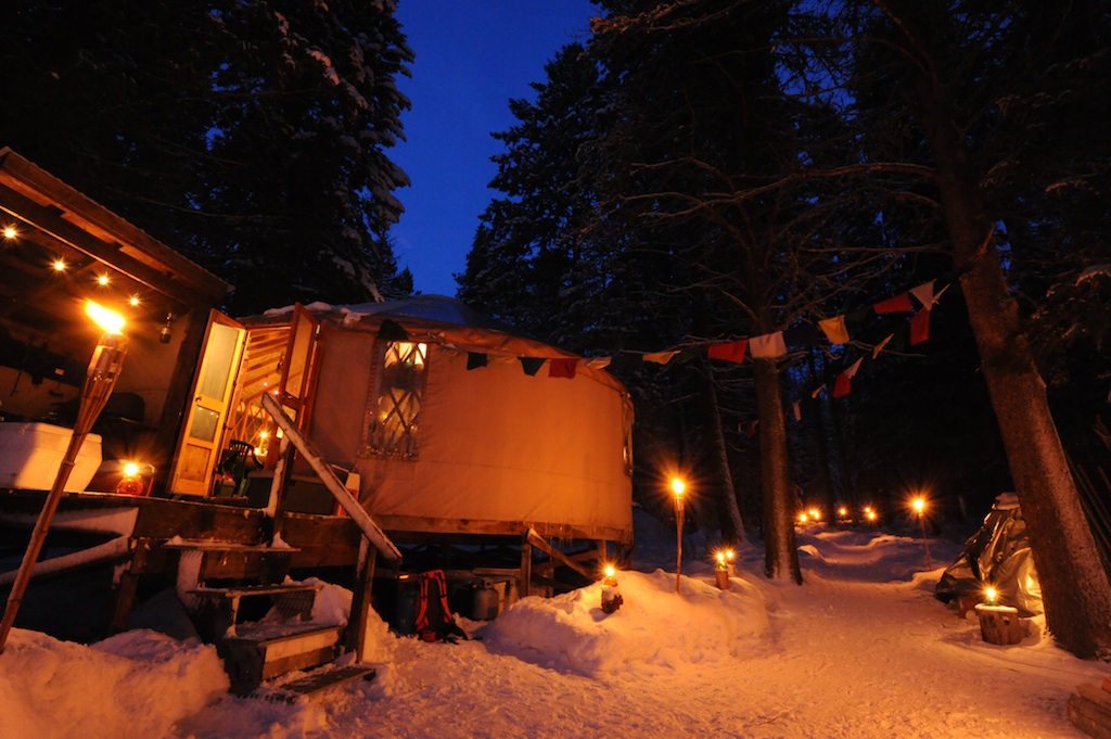 Blue Moon Yurt, near McCall