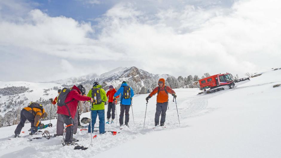 Ruby Mountains Heli Ski