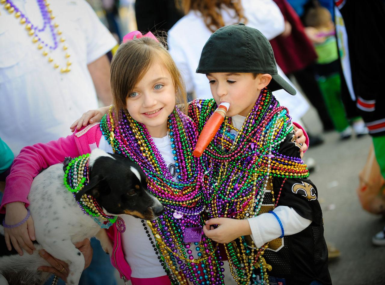 Kids in Louisiana