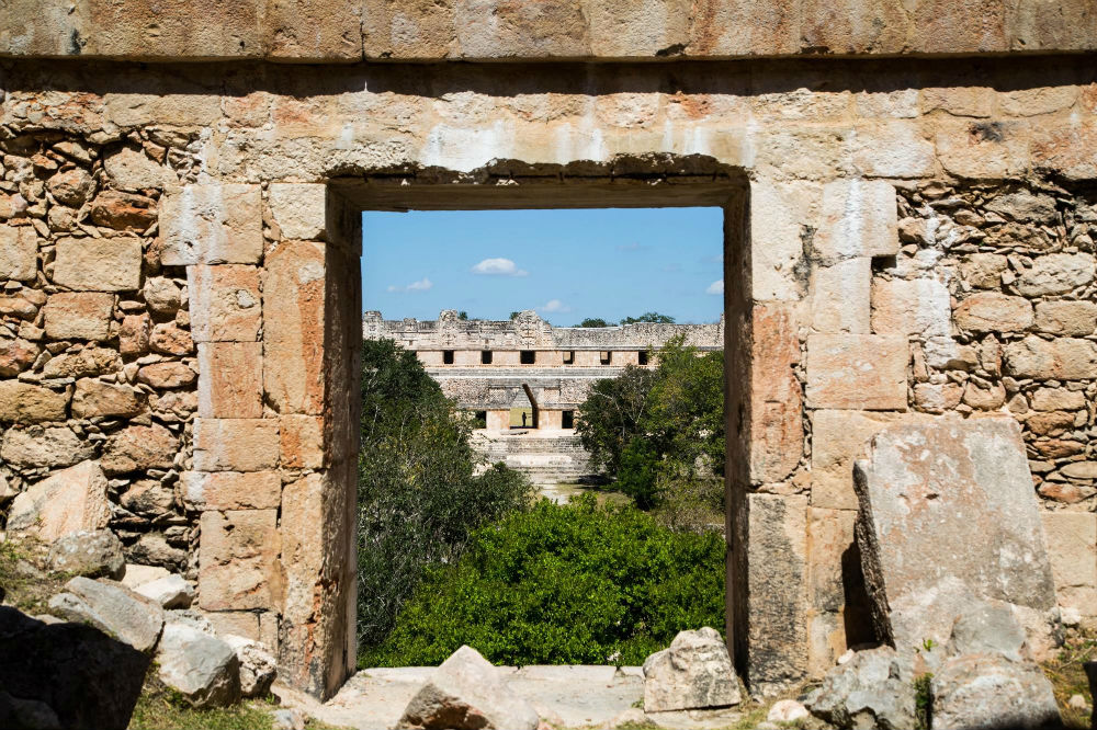 Photo: Uxmal, Walking Mexico