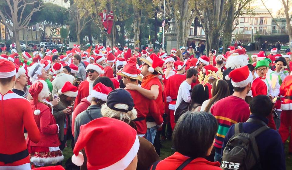 Photo:  Santacon SF