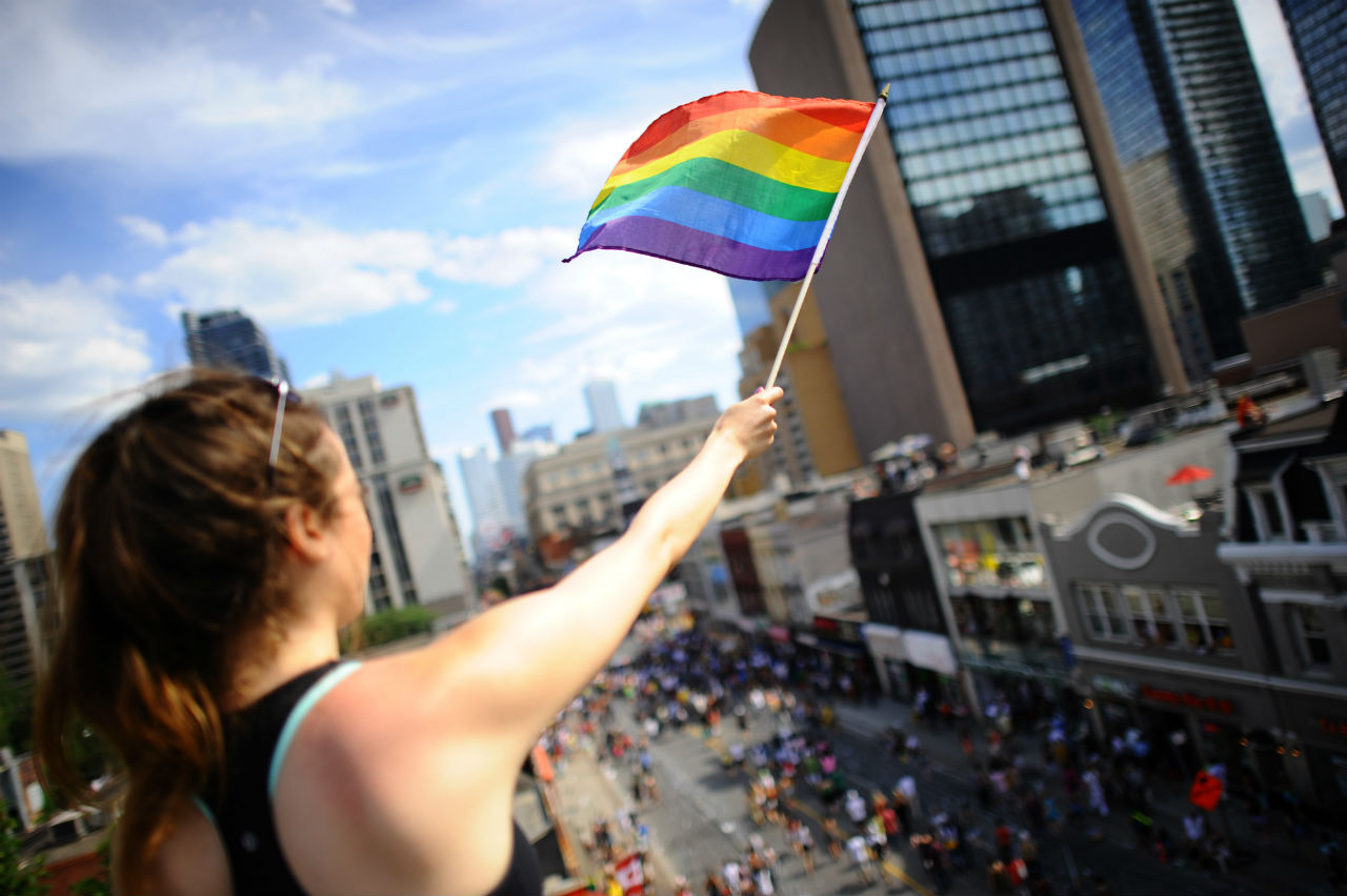 Pride Festival, Toronto, Ontario. Photo: Ontario Tourism