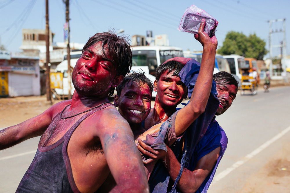 A rainbow of total chaos: a photographer goes street level at India's Holi festival