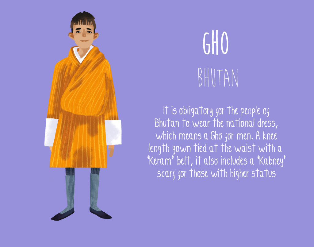Bhutan-Gho-National-Dress-1024x805
