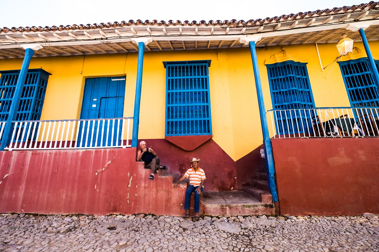Life is lived outside in cuba. Why wouldn't you in a world so full of color. Photo: Jason Napolitano