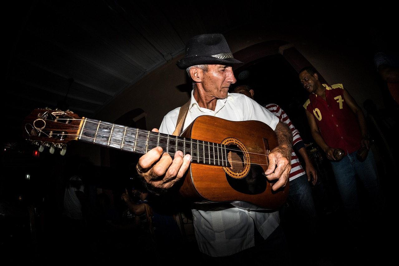 Music and Cuba go together like rum and coke. Love at first sip, or in this case, first song. Photo: Jason Napolitano.