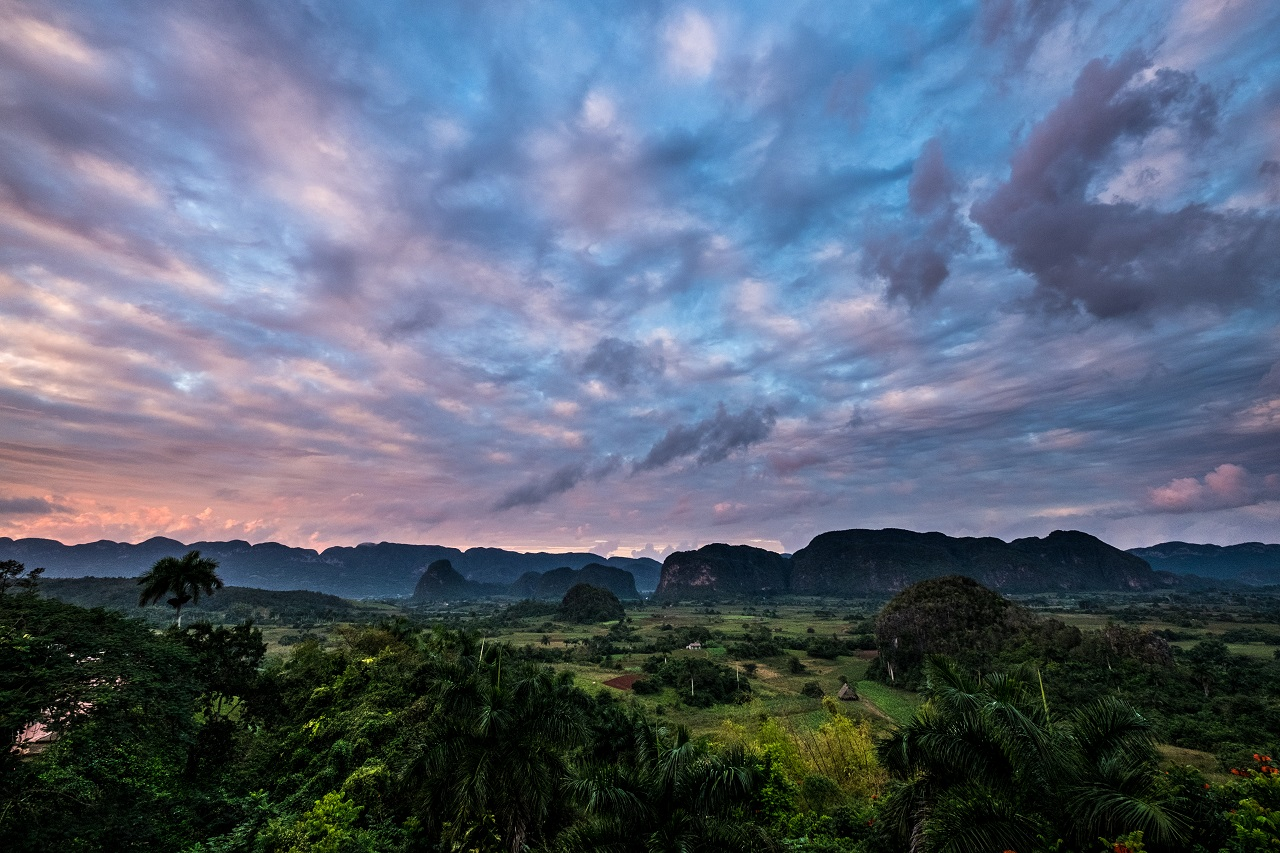 Beautiful Viñales, a small farm town in the north where most of the Cuban tobacco is grown. Photo: Jason Napolitano