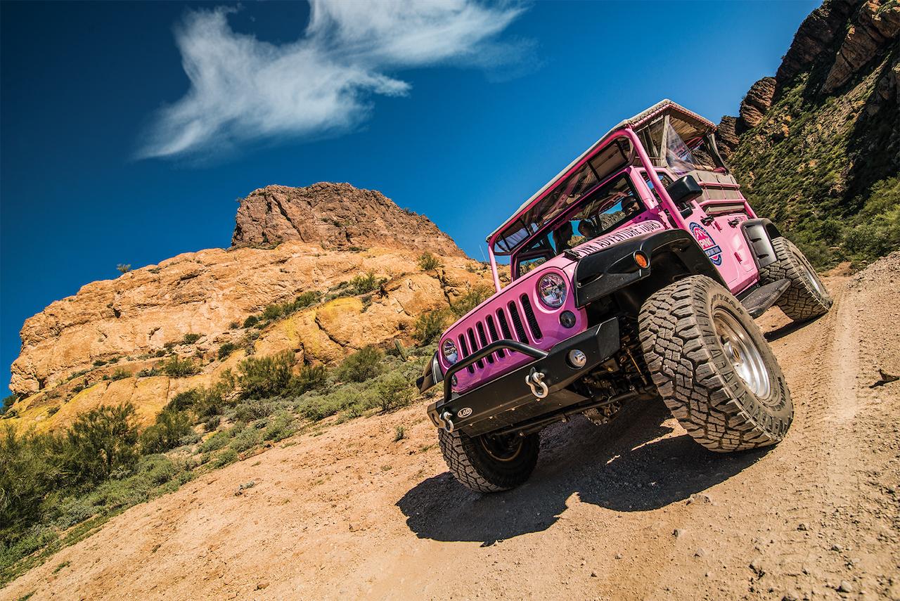 pink adventure tours