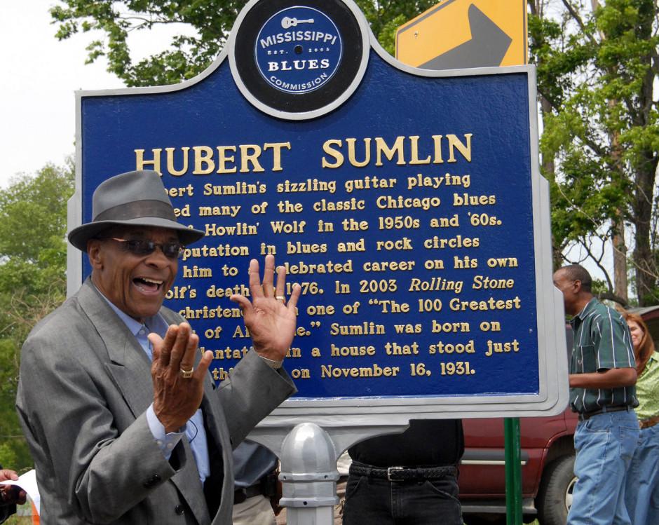 Hubert Sumlin marker
