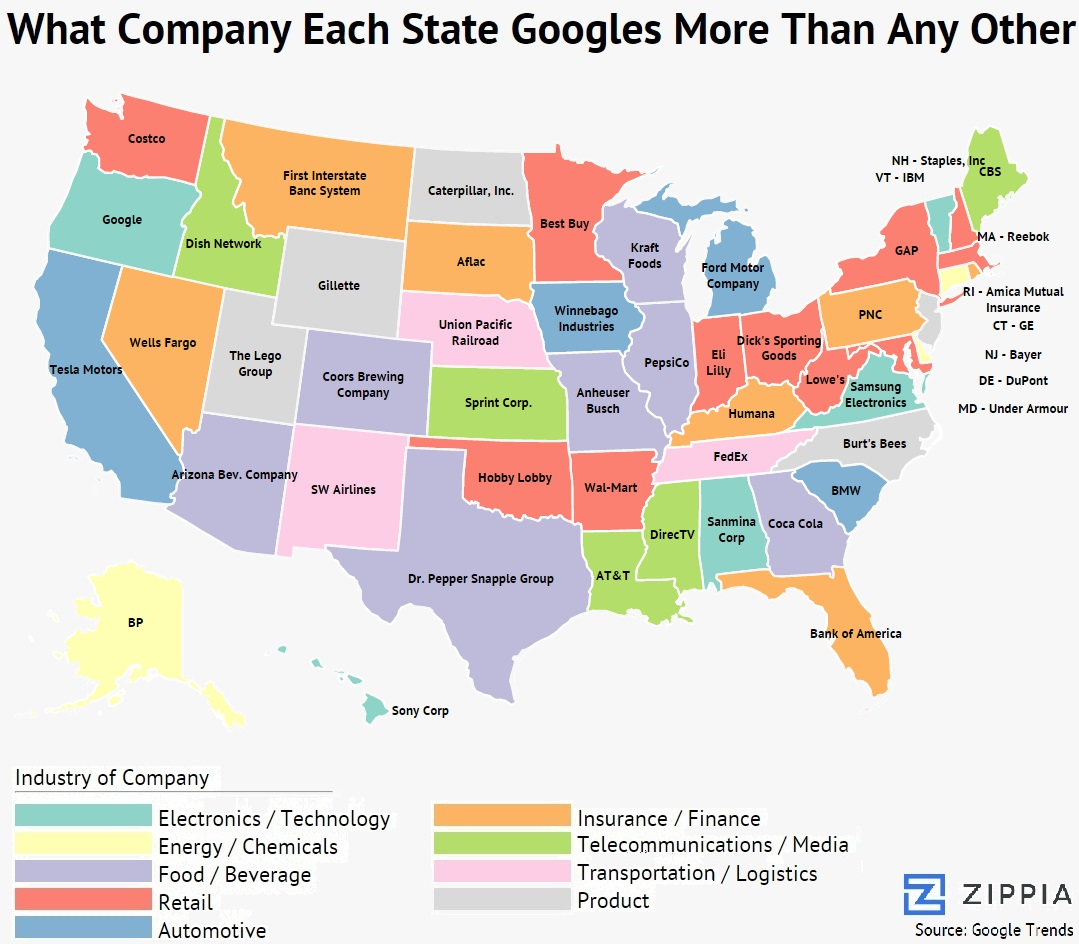 most-googled-company-by-state