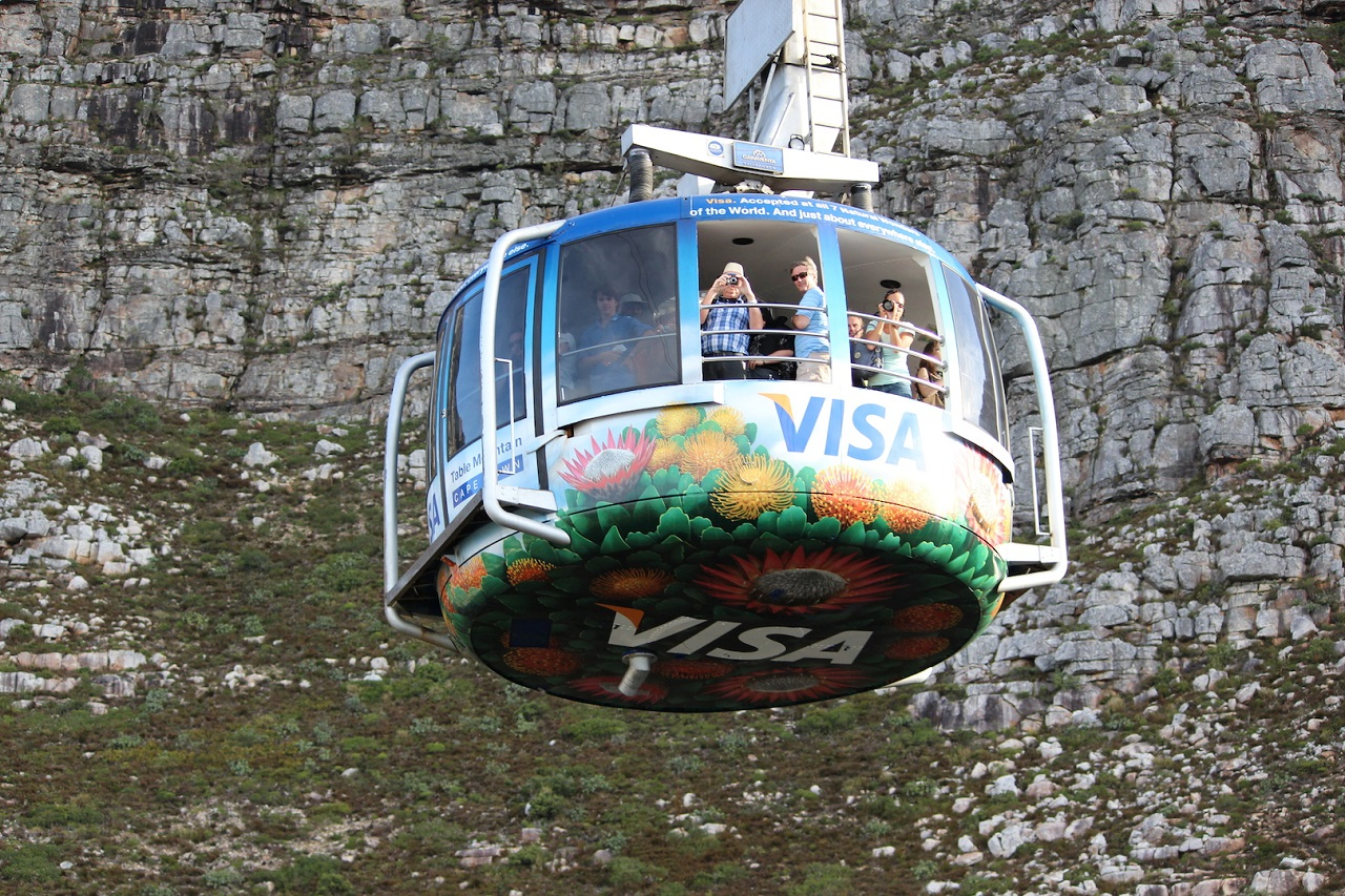 Gondola ride South Africa