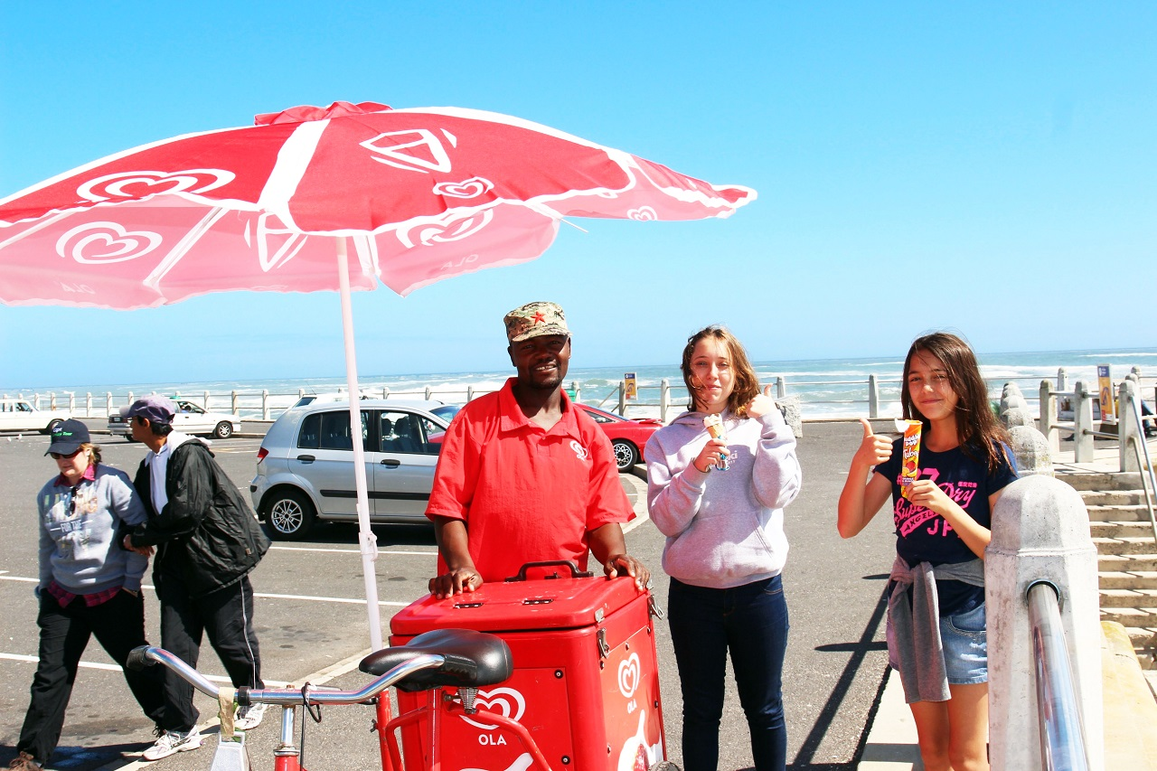 Ice cream by the beach