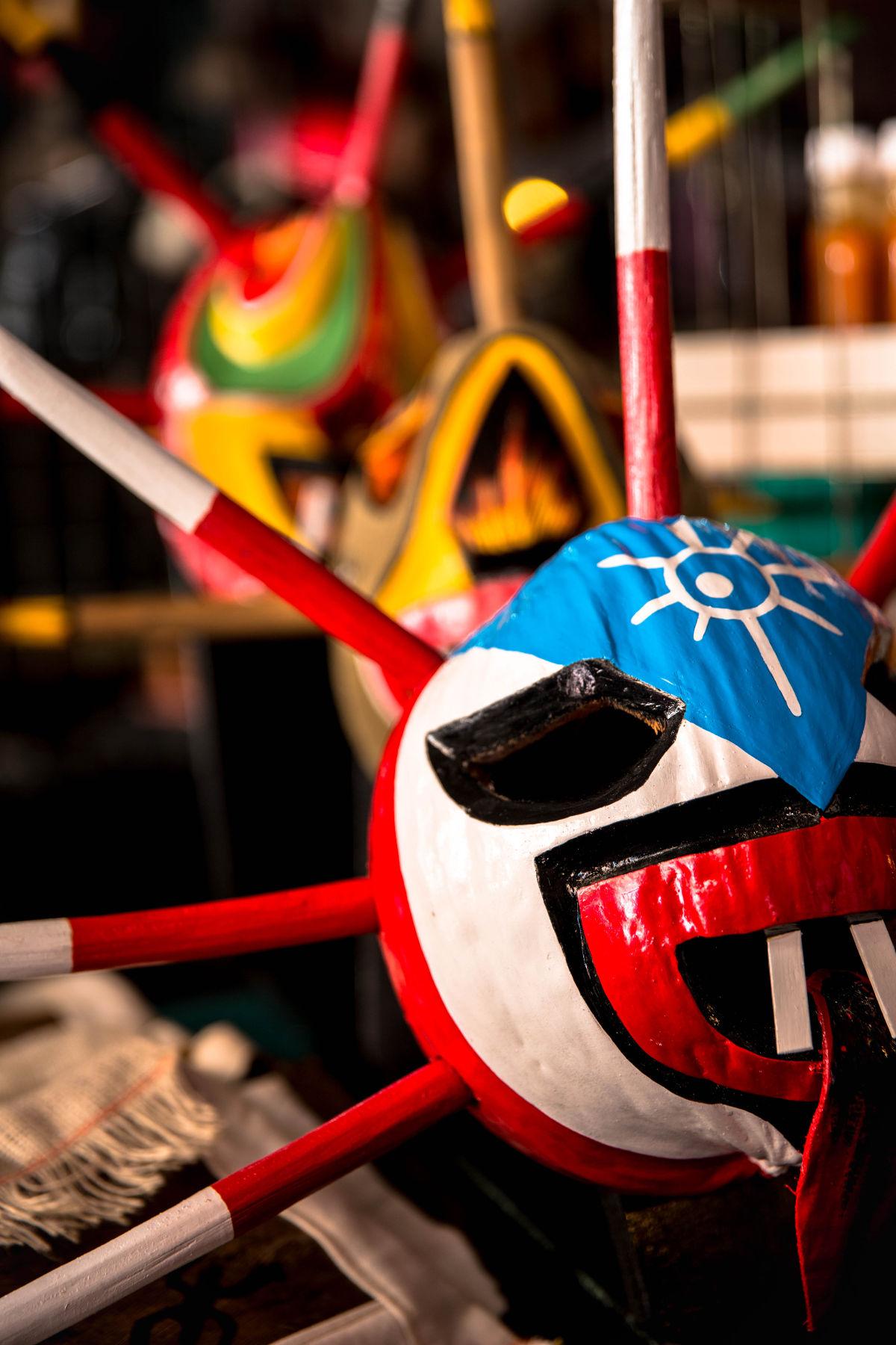Vejigante mask, Puerto Rico