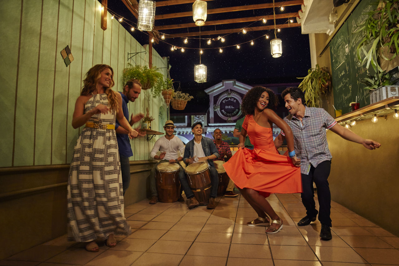 Puerto Rico dancers