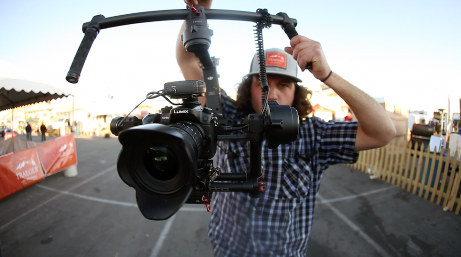 Spencer with gimbal