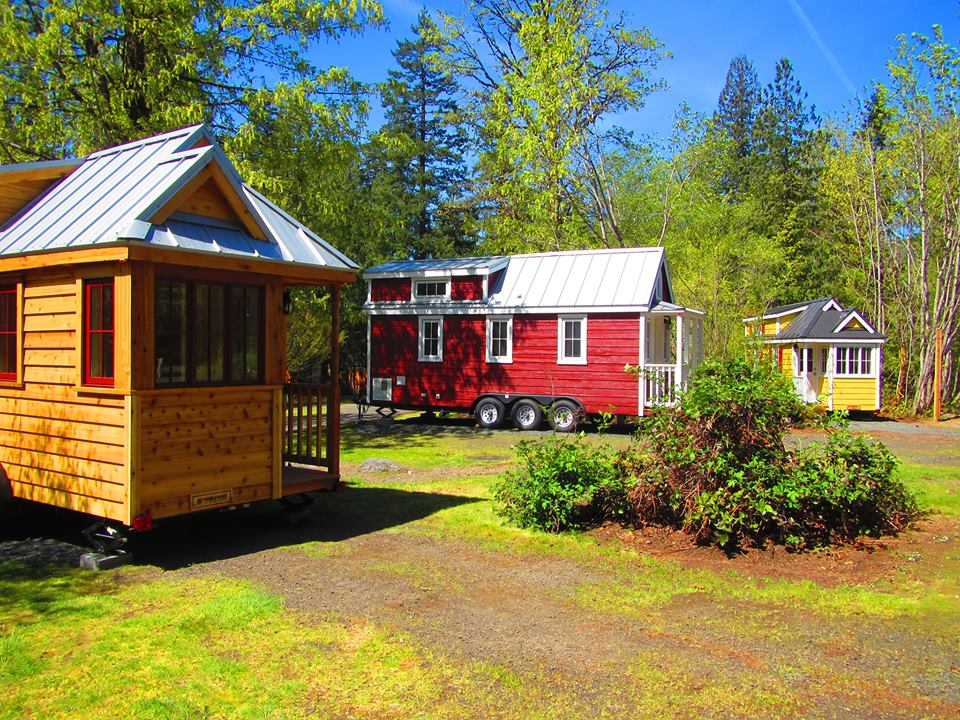 Try the minimalist lifestyle at this tiny house resort in Oregon