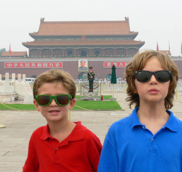 never take your kids to China