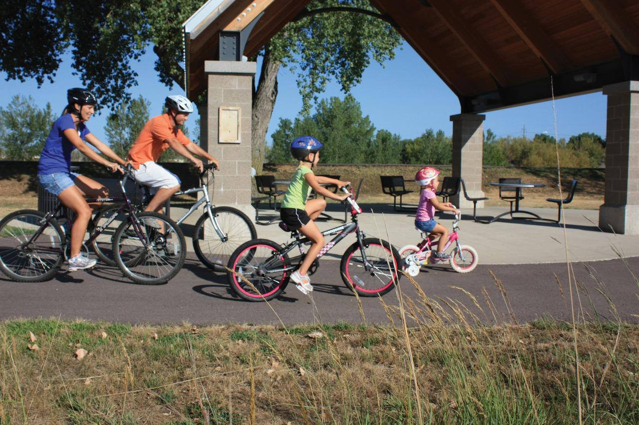 Elmen Trailhead-Bike Trail