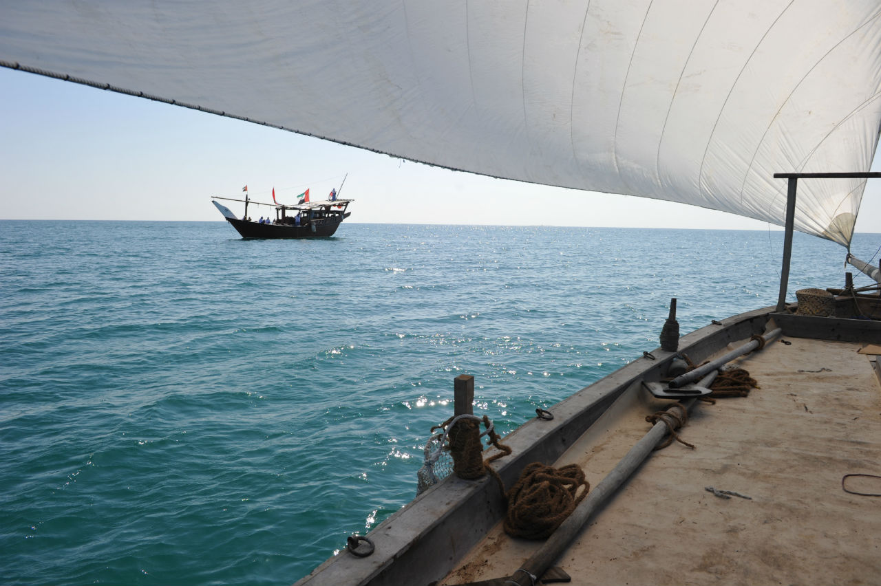 You can ride on a dhow and relieve the not-so-distant national pastime of pearl diving