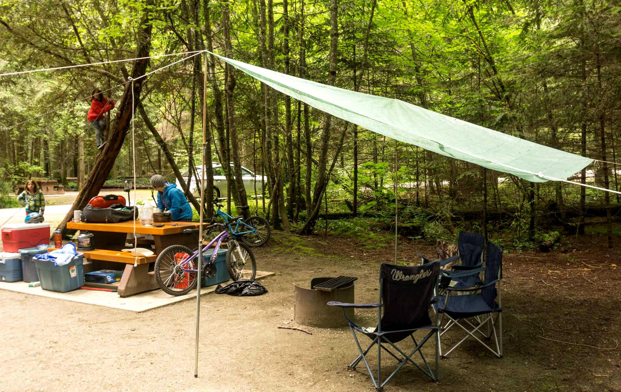 Camp tarp