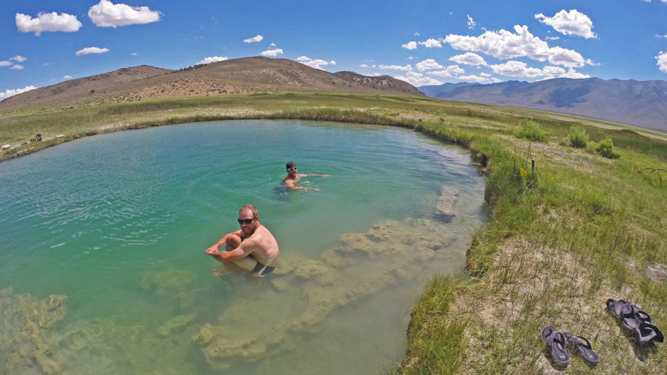 Nevada hot spring