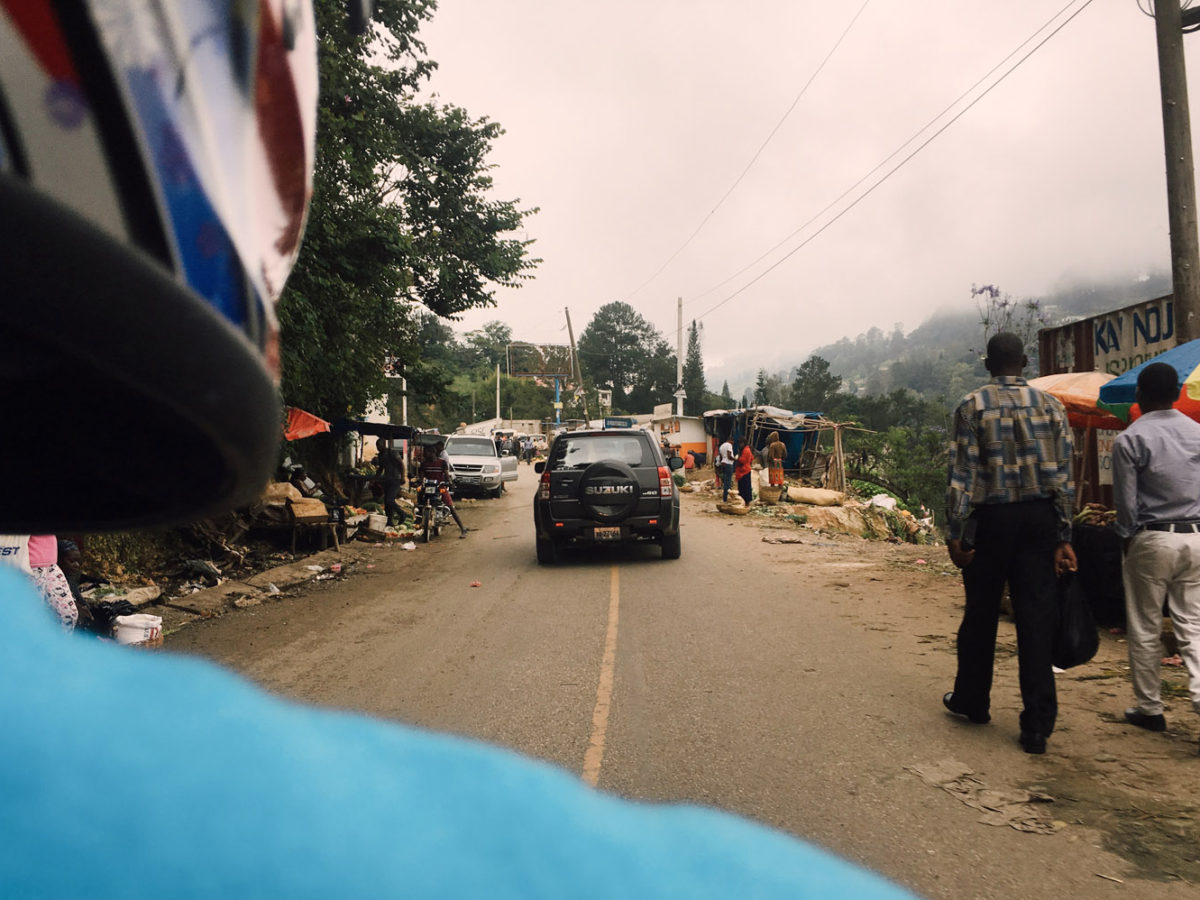 We were warned not to travel around Haiti by motorcycle. We did it anyway.