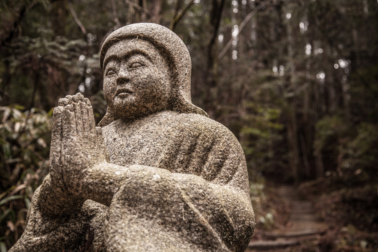 'Guardian of the Pathway' – Okunoin, Wakayama Prefecture