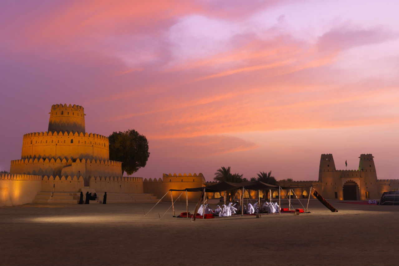Al Ain is a UNESCO World Heritage Site where you can explore Emirati history