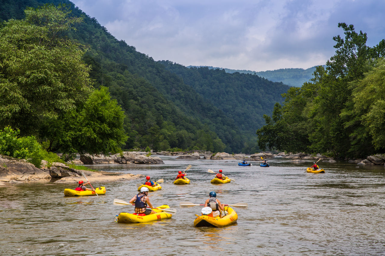 Whitewater rafting, Asheville