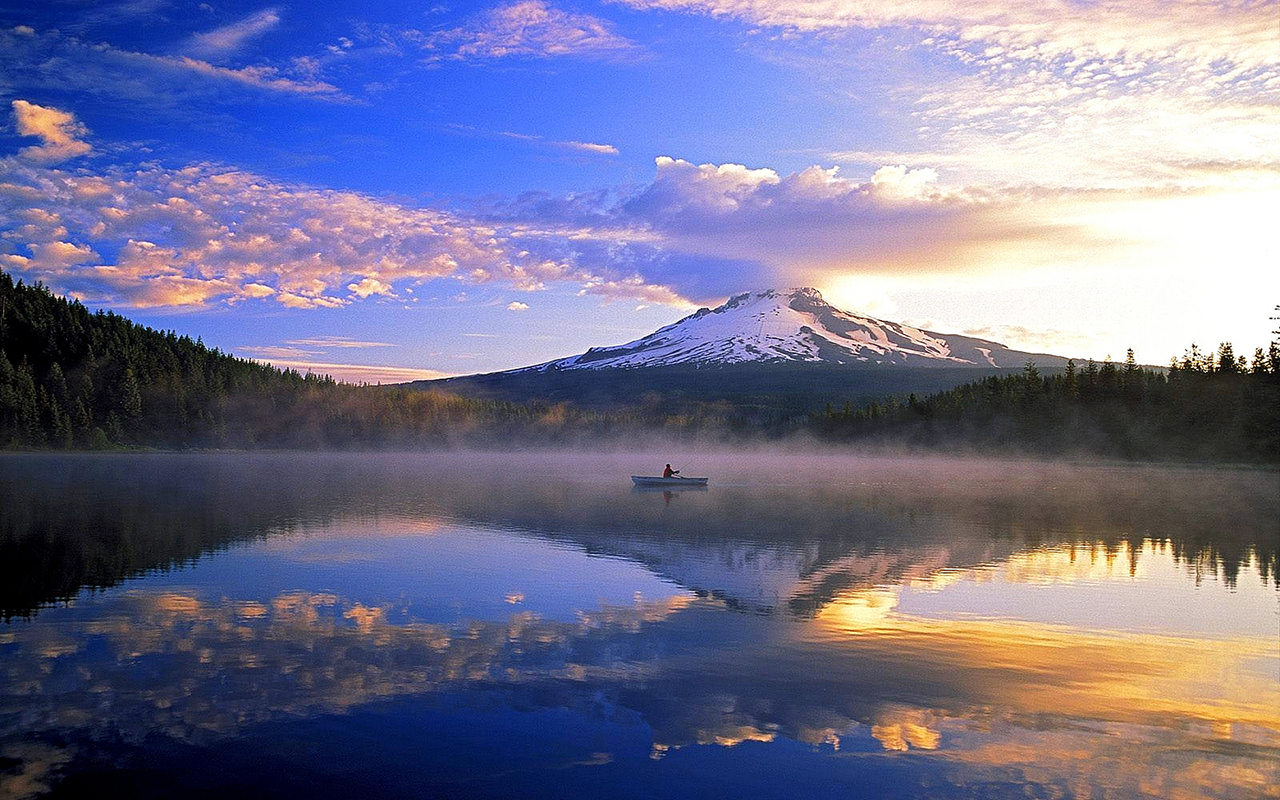 Trillium Lake. Photo Credit: Mt Hood Territory