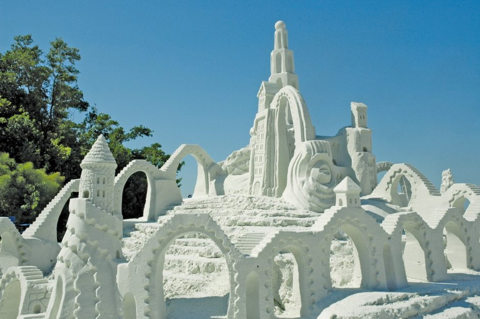 Sand sculptures Fort Myers