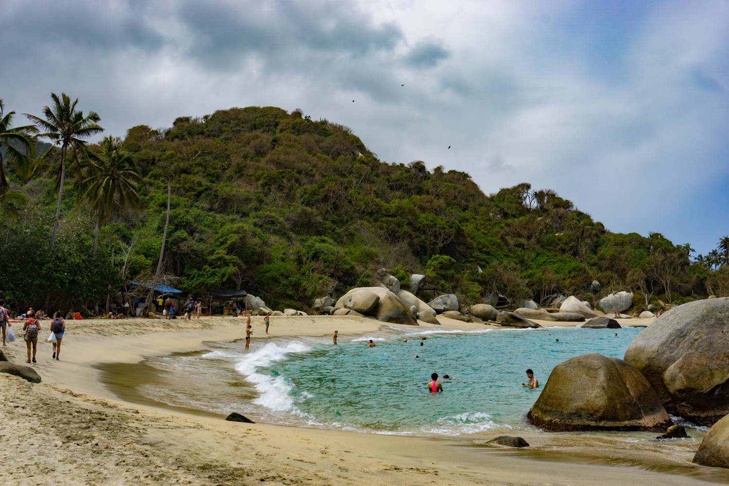 La Piscina (The Pool) – Tayrona National Park.