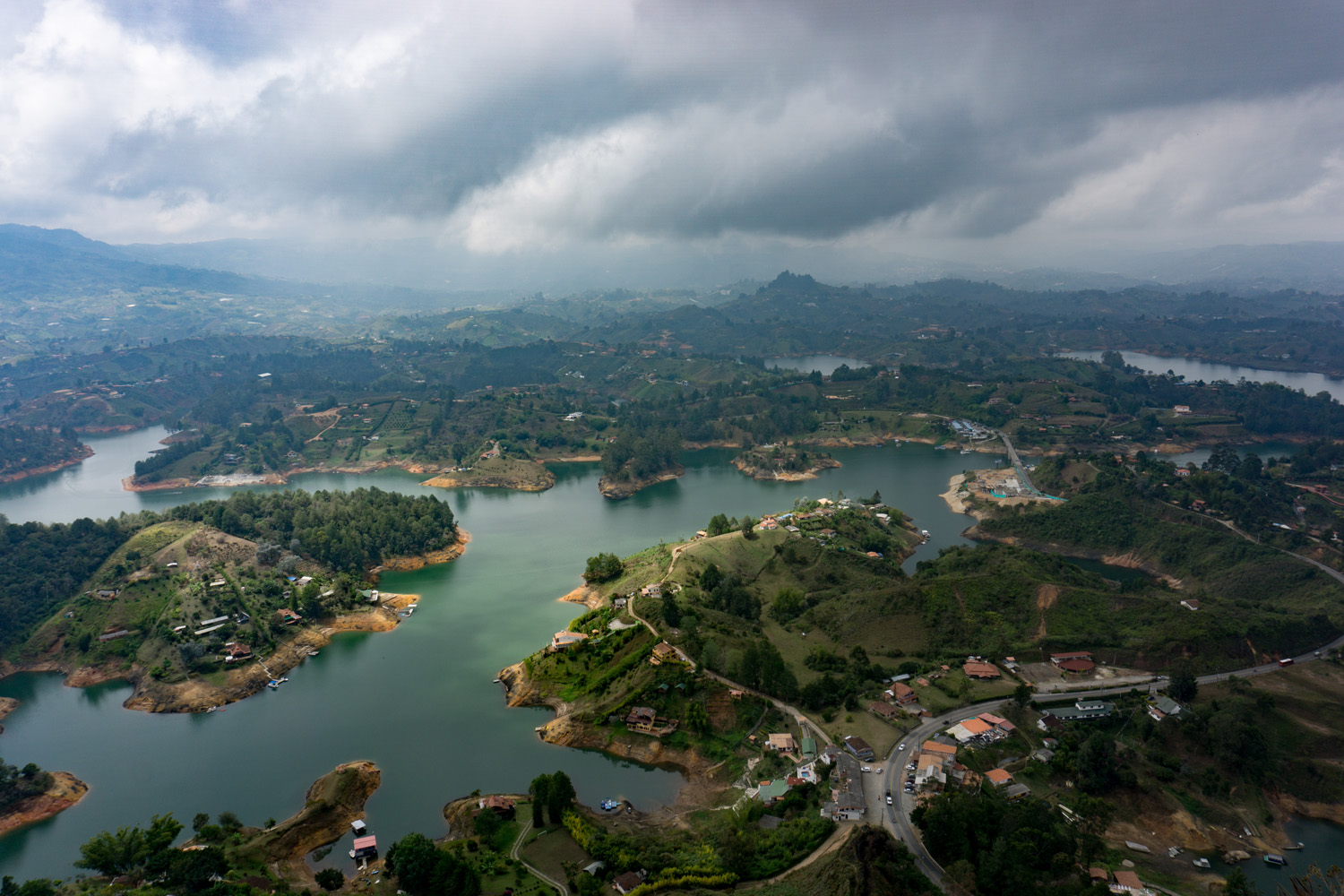 Top of the Rock – La Piedra in Guatapé.