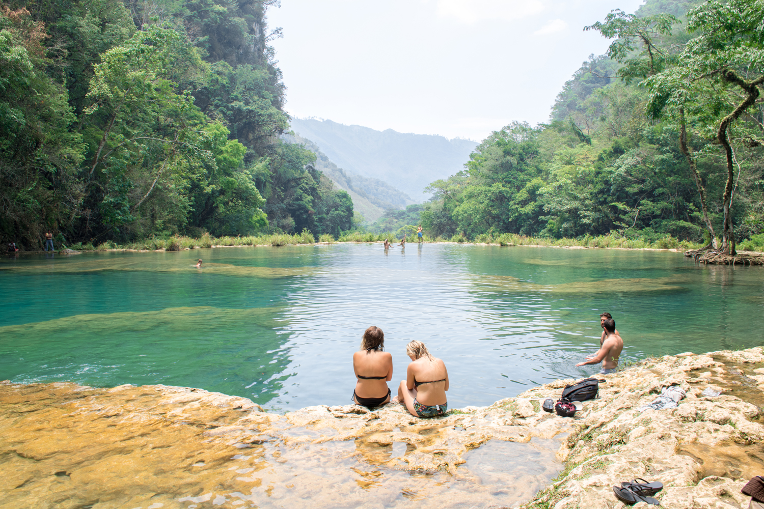 Cascading pools of Semuc Champey