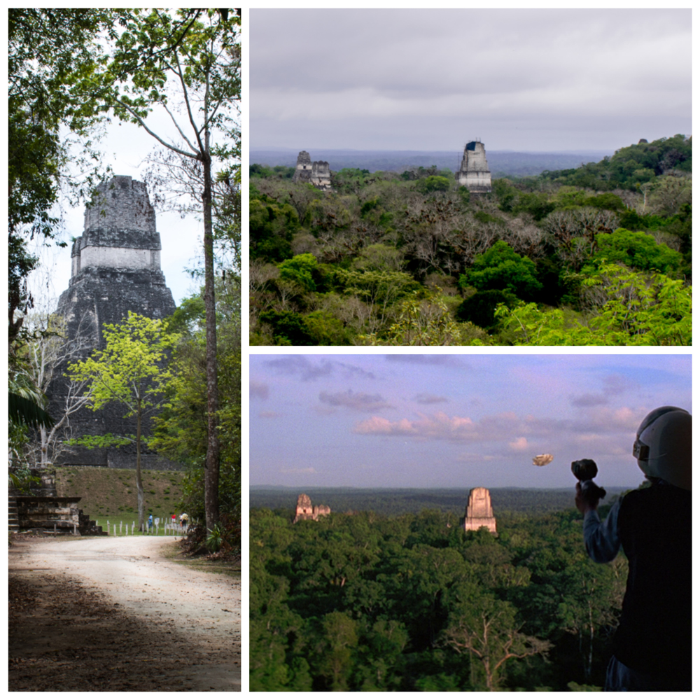 The photo with the spaceship is from Star Wars. (Star Wars photo credit: http://starwars.wikia.com/wiki/Tikal)