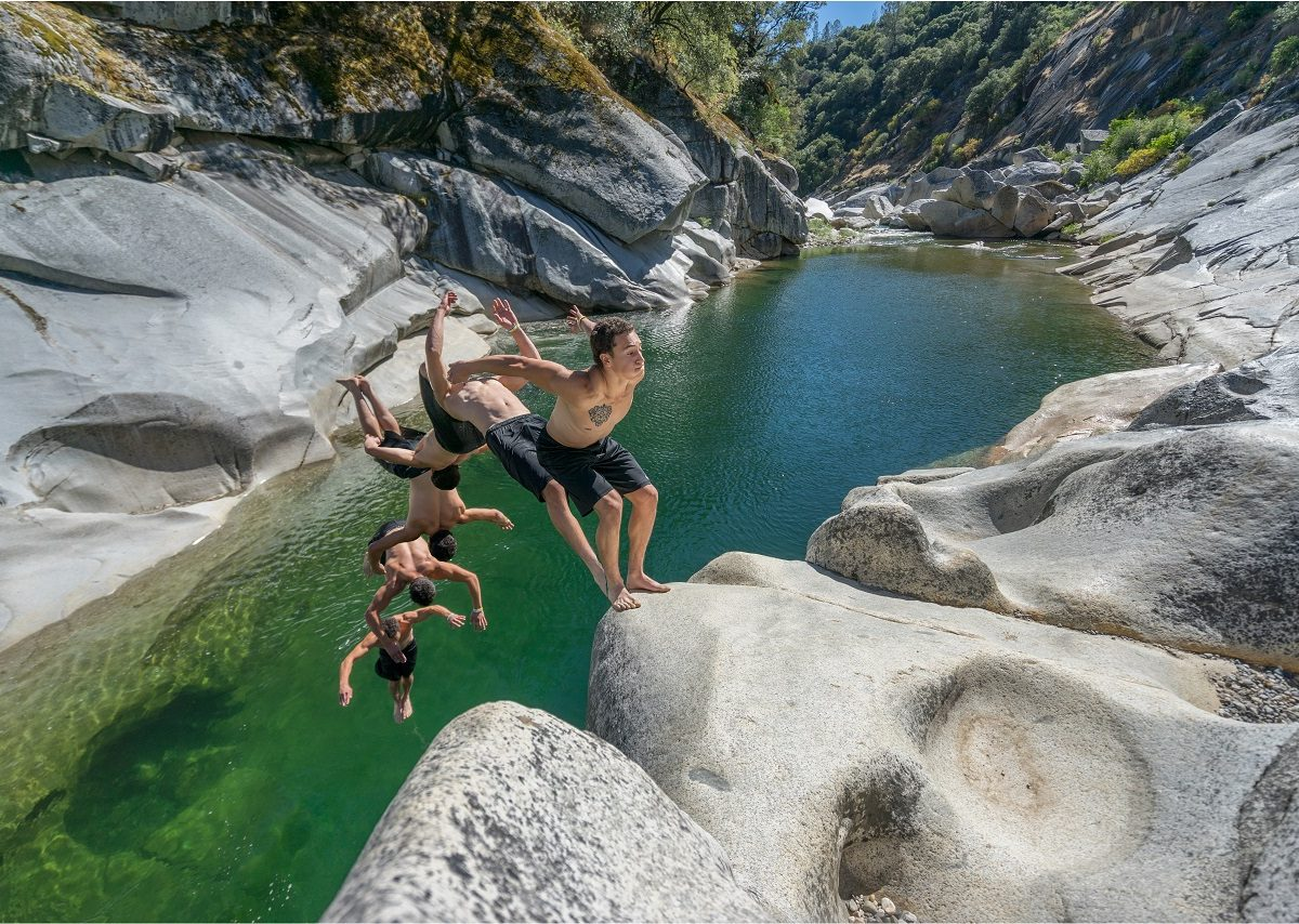 5 Of The Best Swimming Holes In Northern California