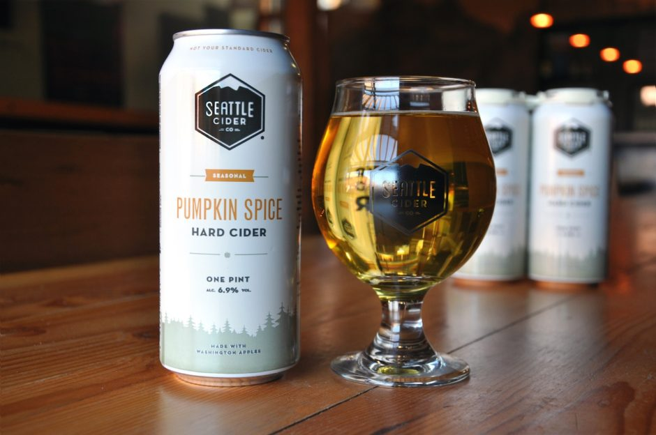 Pumpkin Spice Cider from Seattle Cider don't re use